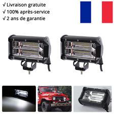 "2x 72W 5"" Cree Rampe LED phares longue portée Moto 12v SUV 4x4 Buggy l'éclairage"