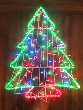 CHRISTMAS TREE COLOUR CHANGING SILOUETE OUTDOOR OR INDOOR CHRISTMAS LIGHT GARDEN