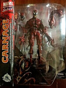 Marvel Select Carnage Disney Store EXCLUSIVE Diamond Select 2020 - Brand New