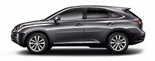 BODY SIDE Moldings PAINTED With CHROME Trim Insert For: LEXUS RX350 2010-2015