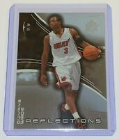 2003-04 Upper Deck Triple Dimensions Reflections Dwyane Wade #41 NBA Rookie Card