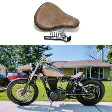 Motorcycle Retro Spring Solo Seat For Harley Sportster Bobber Chopper Custom FO