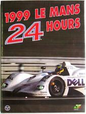 LE MANS 24 HOURS 1999 YEARBOOK / ANNUAL MOITY TEISSEDRE BOOK ISBN:29301204110