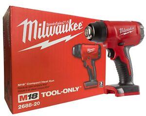 Milwaukee Electric Tools 2688-20 Cordless Heat Gun Tool New Free Shipping USA