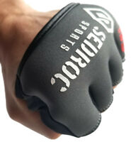 Sedroc Boxing Gel Fist Guards Slip on Knuckle Shields Protectors - Gray