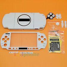 BRAND NEW FULL HOUSING OUTER LENS + BUTTON SET+SCREW SET FOR SONY PSP 3000 WHITE