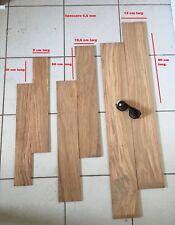 Set Lamelle legno ulivo