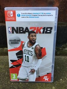 NBA 2K 18 EMPTY BOX ONLY Nintendo Switch Replacement Case