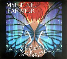 CD SINGLE DIGIPACK MYLENE FARMER L' HISTOIRE D' UNE FEE , C' EST.... RARE 2001