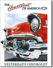 Yesterday's Chevrolet TIN SIGN metal poster antique auto garage wall decor 820