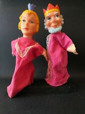2 VINTAGE HAND PUPPETS