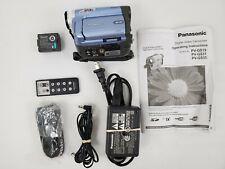 Panasonic PV-GS19 Mini DV Camcorder with Extras