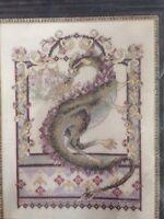 RARE Dragon counted cross stitch kit Janlynn , Stoney Creek sealed