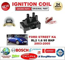 FOR FORD STREET KA RL2 1.6 95 BHP 2003-2005 IGNITION COIL 3-PIN PLUG TYPE M4