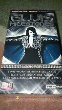 2010 ELVIS PRESLEY PRESS PASS MILESTONES TRADING CARD BOX-POSS.ELVIS AUTOS-SIGS