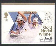 GB 2012 Olimpiadas/Deportes/ganadores de medalla de oro/canotaje/Baillie/Stott 1 V (n35465)