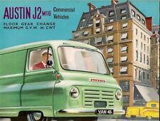 Austin J2 M16 Early 1960s UK Market Sales Brochure Van Pick-Up Minibus