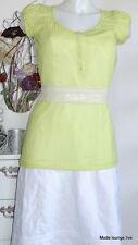 NOA NOA Camiseta De hecho Jersey alarma S 36 algodón algodón verde verde blusa