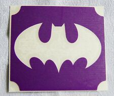 GT68 Body Art Temporary Glitter Tattoo Stencil Batman
