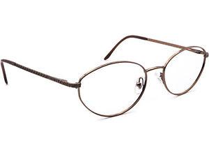 Versace Eyeglasses MOD. 1006 1013 Brown Oval Metal Frame Italy 54[]18 135