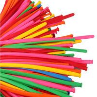 Free Shipping 200pcs/Pack Long Ballons Mixed Color Wedding Birthday Ballons