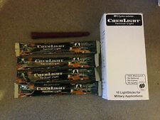 """20 X INFRA RED 3 HOUR 6"""" CYALUME CHEMLIGHT TACTICAL SNAP GLOW STICK EXPIRY 2018"""