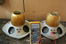 """Pair Tannoy Monitor Gold LSU/HF/3LZ/8 10"""" Dual Concentric Speakers & Crossovers!"""