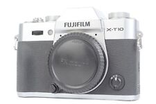 Fujifilm X-T10 16.3MP Mirrorless Digital Camera (Body Only) - Silver  #P0795