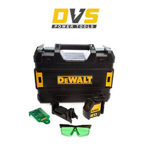 DeWalt DW088CG Green Beam Self Levelling Cross Line Laser Level w/ Accessories
