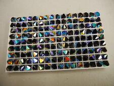36 swarovski crystal beads,8mm jet AB #5301