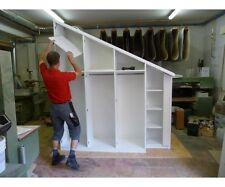 Holzboden Platten Fachboden Einlegeboden für Kommode Regal Weiß Wunschmass