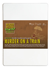 Murder on a Train 6-14 Player Mystery Flexi-party Dinner Party Game