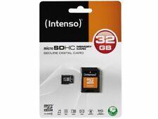 INTENSO MICRO SD SPEICHERKARTE 32GB3403480 Klasse 4 mit SD Adapter