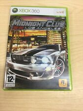 New listing Midnight Club Los Angeles Xbox 360 PAL Game Complete + Map & Manual - VGC