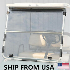 Foldable Clear Windshield for Club Car DS 1982-2000.5 Golf Cart Old Style US MY