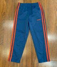 adidas Boys Athletic Track Pants Size 5, 6, 7 Blue New