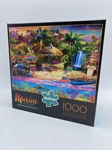1000 Piece Puzzle Tropical Island Holiday Marine Color Jigsaw Buffalo Brand New