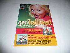 Geri Halliwell (of the Spice Girls) - 2 Page French Promo Leaflet.