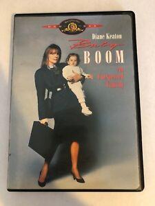 BABY BOOM (1987) (DVD) - Good SHAPE - Diane Keaton Sam Shepard RARE OOP