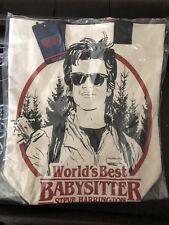SDCC 2018 Exclusive Loungefly Stranger Things Babysitter Steve Canvas Tote 500LE