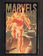 """Marvels #1 ~ """"A Time of Marvels"""" / Alex Ross CVR ~ 1994 (9.2) WH"""