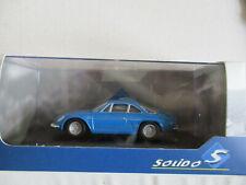 Alpine A110 Berlinette anno 1973 Blu 1 43 Solido