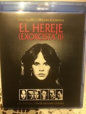 The Exorcist II: The Heretic 1977 BLU RAY import Ennio Morricone Richard Burton