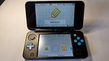 Nintendo New 2DS XL Schwarz/Türkis Handheld-Spielkonsole Gebraucht - Akzeptabel