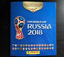 Panini World Cup Russia 2018 Album US version