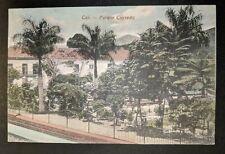 Mint Vintage Cali Cayzedo Park Cali Columbia Real Picture Postcard