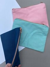 Blank make up bags for crafting