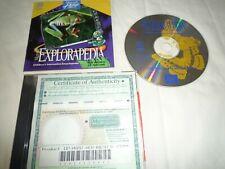 MICROSOFT PC CD EXPLORAPEDIA THE WORLD OF NATURE VINTAGE ?