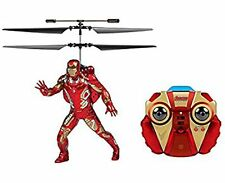 NEW World Tech Toys IRONMAN Infrared RC Flying Figure 2-Ch LED helicopter drone