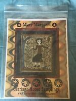 Carriage House Samplings Mary Margaret Cross Sitch Pattern Chart 2007